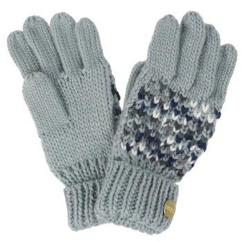 Women's Frosty III Knitted Gloves Light Steel