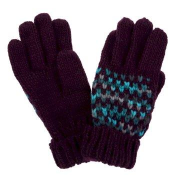Women's Frosty III Knitted Gloves Prune