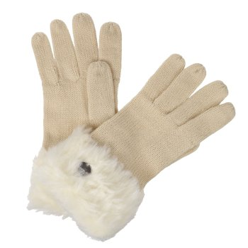 Women's Luz II Knit Gloves Light Vanilla