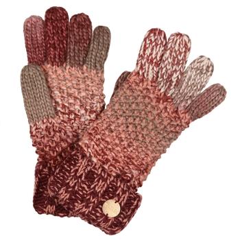 Damskie rękawiczki Frosty V bordowy