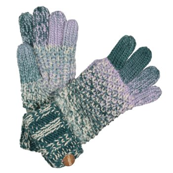 Damskie rękawiczki Frosty V zielone