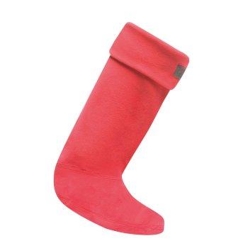 Women's Fleece Wellington Socks Virtual Pink