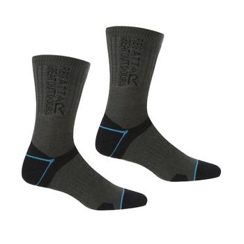 Women's Blister Protection II Socks Black Ash