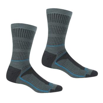 Women's Samaris 3 Season Socks Stormy Sea Niagra Blue