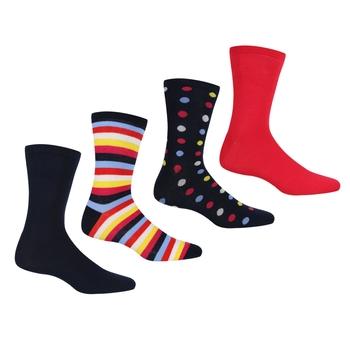 Women's 4 Pair Lifestyle Socks Navy Duchess