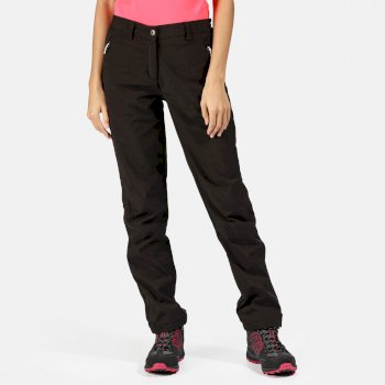 Women's Geo II Softshell Trousers Black