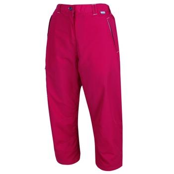 Women's Chaska Capri Walking Trousers Dark Cerise