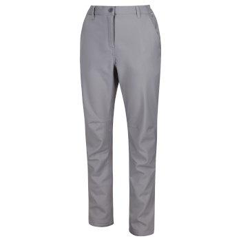 Women's Fenton Softshell Walking Trousers Rock Grey