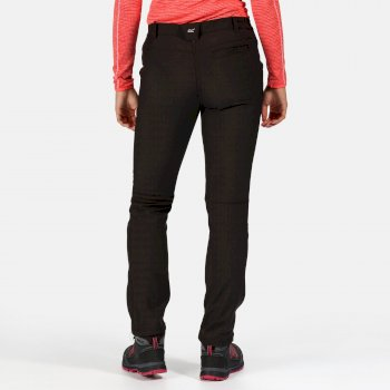 Women's Fenton Multi Pocket Softshell Walking Pants Black