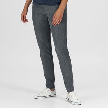Damskie spodnie Pentre Stretch szare