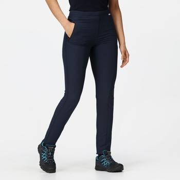 Women's Pentre Stretch Walking Trousers Navy