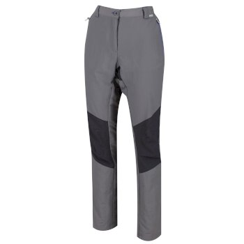 Women's Sungari II Lightweight Stretch Walking Trousers Rock Grey Seal Grey