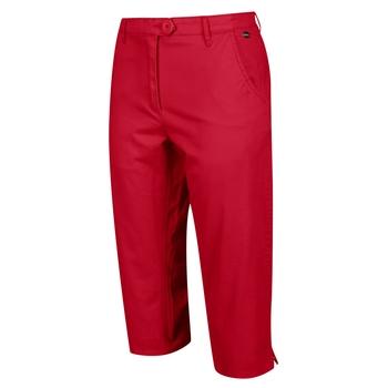 Women's Maleena II Casual Capri Trousers True Red
