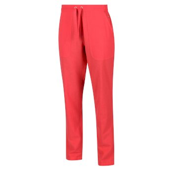 Women's Quanda Drawstring Trousers Red Sky