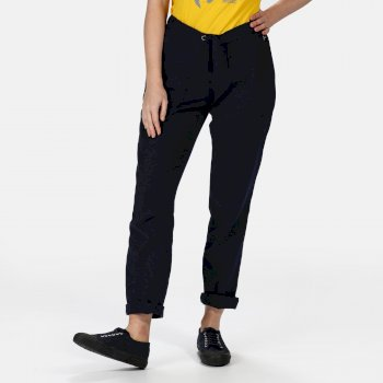 Women's Quanda Drawstring Pants Navy