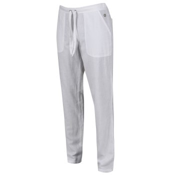 Women's Quanda Drawstring Pants White