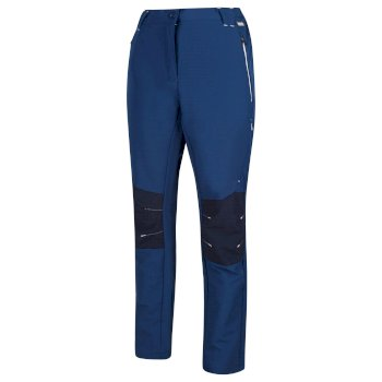 Women's Questra II Softshell Walking Trousers Prussian Blue Navy