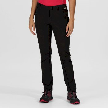 Women's Highton Stretch Walking Trousers Black