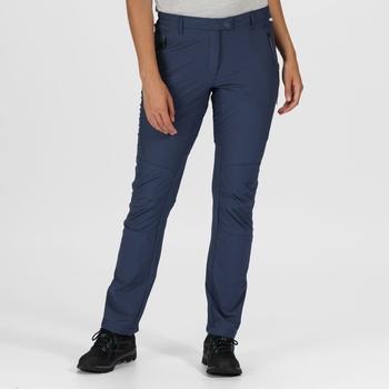 Women's Highton Stretch Walking Trousers Dark Denim