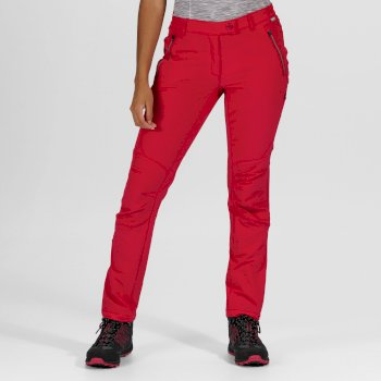 Women's Highton Stretch Walking Trousers Dark Cerise