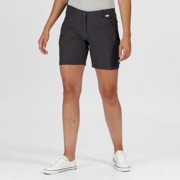 Women's Highton Mid Walking Shorts Seal Grey