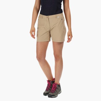 Women's Highton Mid Walking Shorts Moccasin