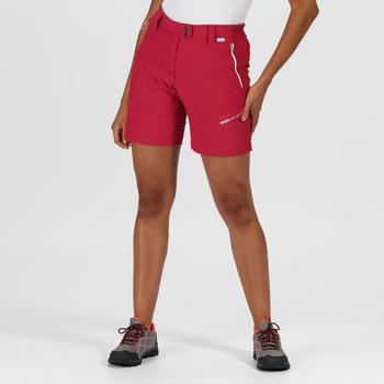 Women's Mountain Walking Shorts Dark Cerise