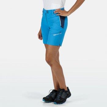 Women's Mountain Walking Shorts Blue Aster Dark Denim