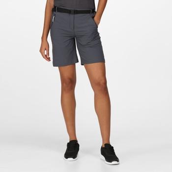 Women's Xert III Stretch Walking Shorts Seal Grey
