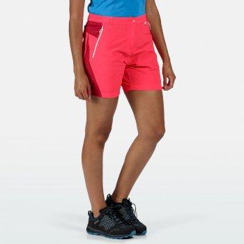 Women's Sungari II Walking Shorts Neon Pink Dark Cerise