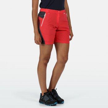 Regatta Women/'s Sungari II Walking Shorts Red