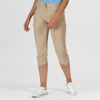 Women's Chaska II Capri Walking Trousers Moccasin
