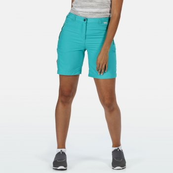 Women's Chaska II Walking Shorts Turquoise