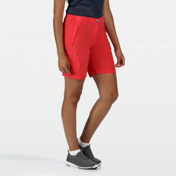 Women's Chaska II Walking Shorts Red Sky