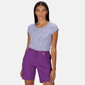 Women's Chaska II Walking Shorts Plum Jam