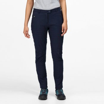 Women's Highton Winter Multi Pocket Walking Trousers Navy