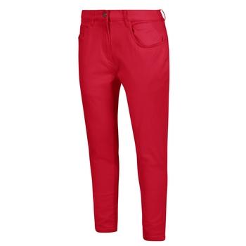 Women's Gabrina Mid Skinny Denim Jeans True Red
