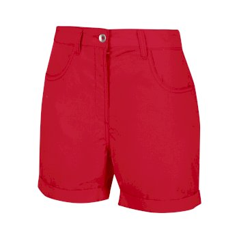 Women's Pemma Casual Chino Shorts True Red