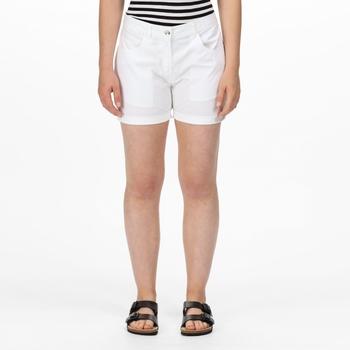 Women's Pemma Casual Chino Shorts White