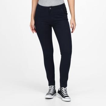 Damskie spodnie Katonya Jean granatowe