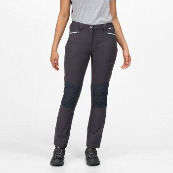 Damskie spodnie Questra III szare