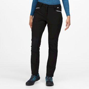 Damskie spodnie Questra III czarne