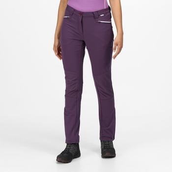 Damskie spodnie Questra III fioletowe