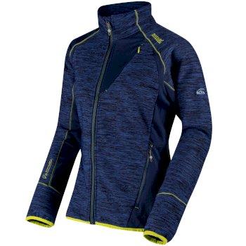 Catley II Hybrid Stretch Wind Resistant Softshell Jacket Dazzling Blue Twilight Marl