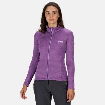Women's Highton Lite Full Zip Softshell Stretch Midlayer Plum Jam