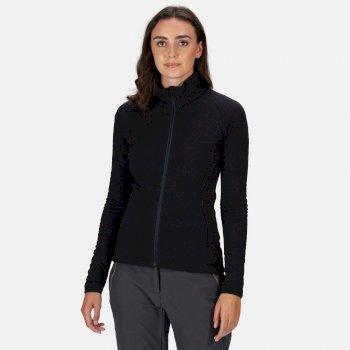 Women's Kelford Softshell Walking Jacket Navy Black