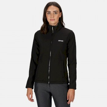 Women's Connie V Softshell Walking Jacket Black