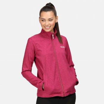 Women's Connie V Softshell Walking Jacket Beetroot Marl