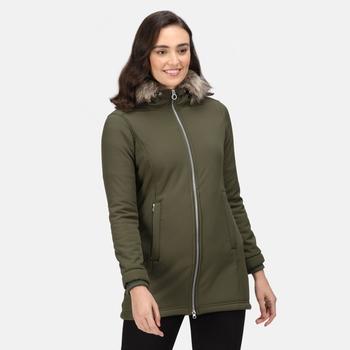 Women's Sunaree Softshell Jacket Dark Khaki