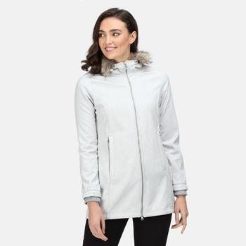 Women's Sunaree Softshell Jacket Cyberspace Marl